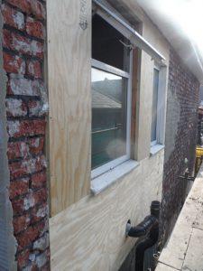 Shows rebuild in progress